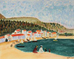 Paul - landscape inspired by Renoir