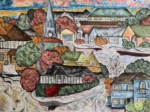 Lesley - neighbourhood inspired by Egon Schiele