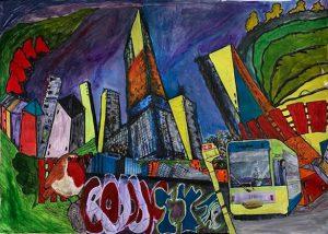 Liz C - Croydon painting