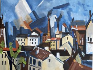 Susan S - painting inspired by Vlaminck