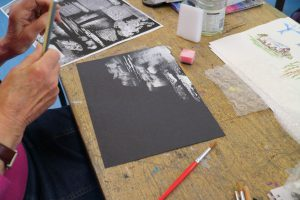 Elizabeth Davis - Experimenting in Black and White