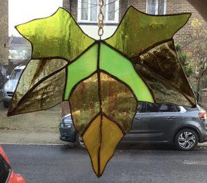 Sally - copper foil leaf
