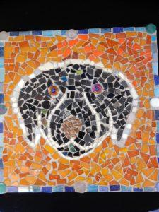 Conor Ede - Dog mosaic
