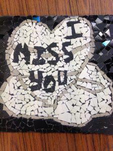 James Box - Black and white mosaic