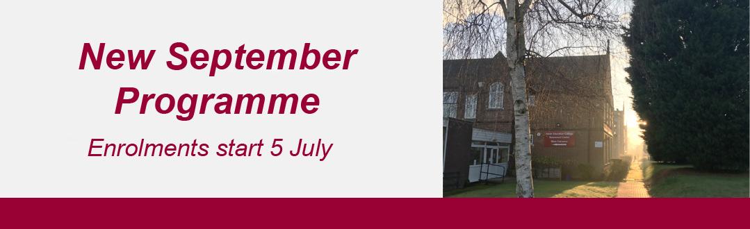 September programme